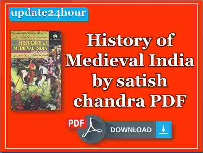 History of Medieval India by satish chandra PDF