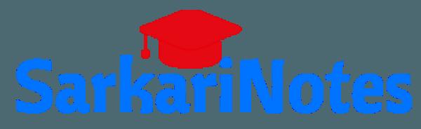 sarkarinotes logo